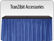 TranZibit Portable Tradeshow Table Accessories